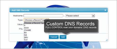 Custom DNS Records